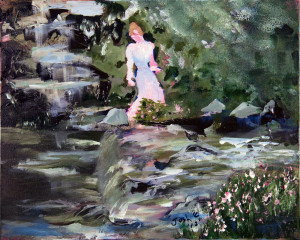 Josh Englehaupt - Lady by the Water